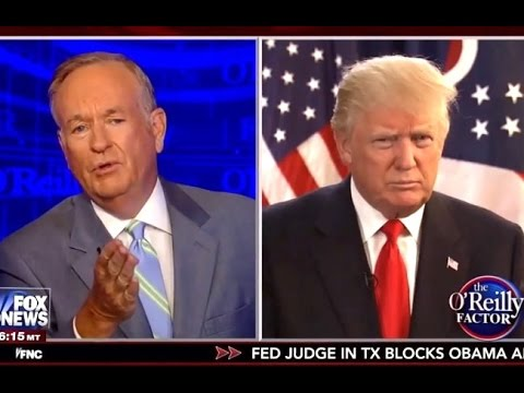 Bill O'Reilly Exposes Trump's Ignorance On Policy Specifics
