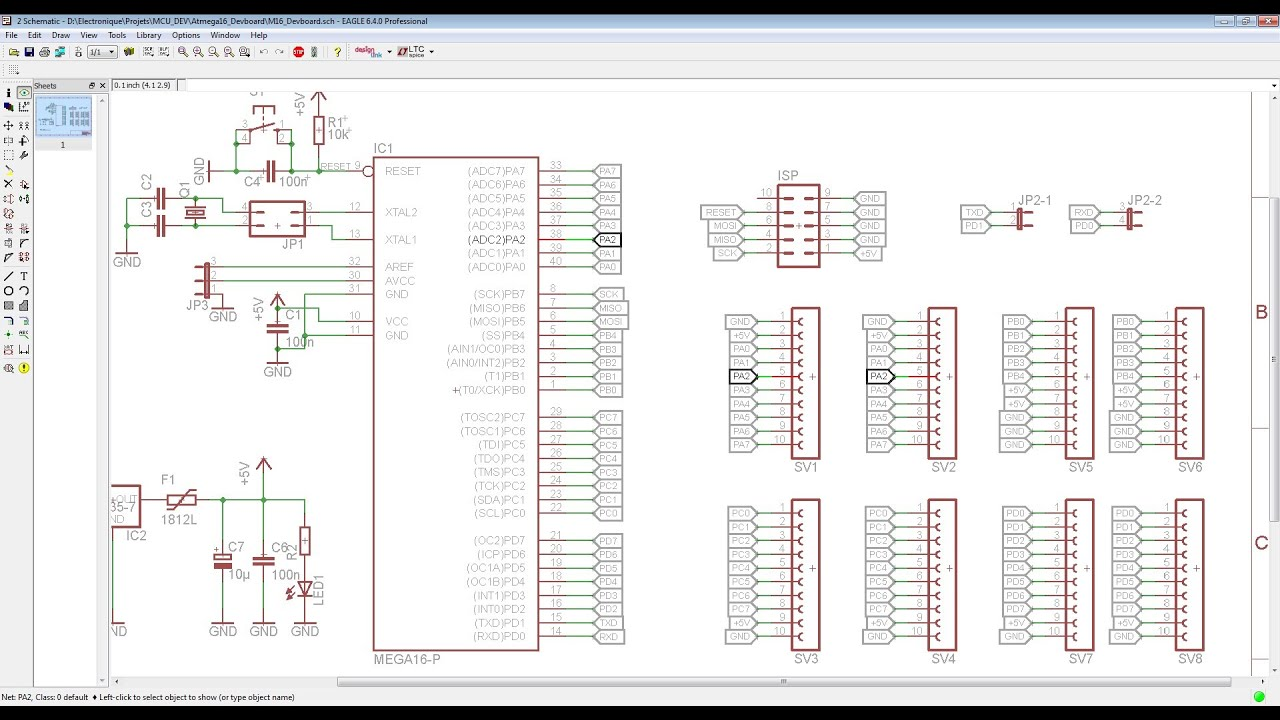 Old Fashioned Eagle Sch Viewer Model - Electrical Wiring Diagram ...