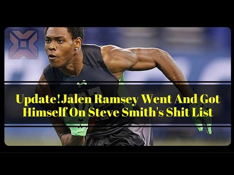 Update!Jalen Ramsey Went And Got Himself On Steve Smith