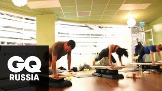 Бой с весом: «Сёрфсет» – трёхминутная домашняя тренировка