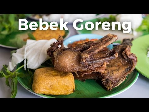 Amazing Fried Duck and Sambal at Bebek Goreng H. Slamet