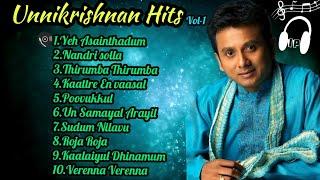 Unni Krishnan Hits | Tamil jukebox |Tamil Melody |Isai Playlist