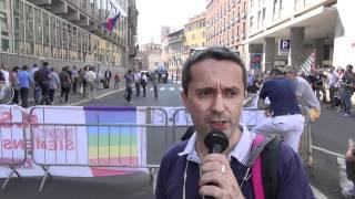 Nokia Siemens Networks: presidio davanti ad Assolombarda