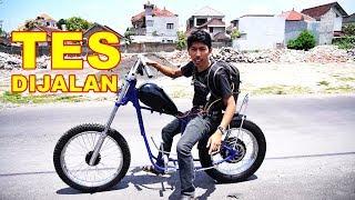 Download Video Uji Coba Di Jalanan Tanpa REM Chopper Listrik VLOG172 MP3 3GP MP4