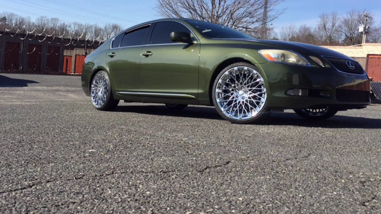 Lexus Gs450 Riding Out On 20 Quot Rosso Skism Chrome Wheels