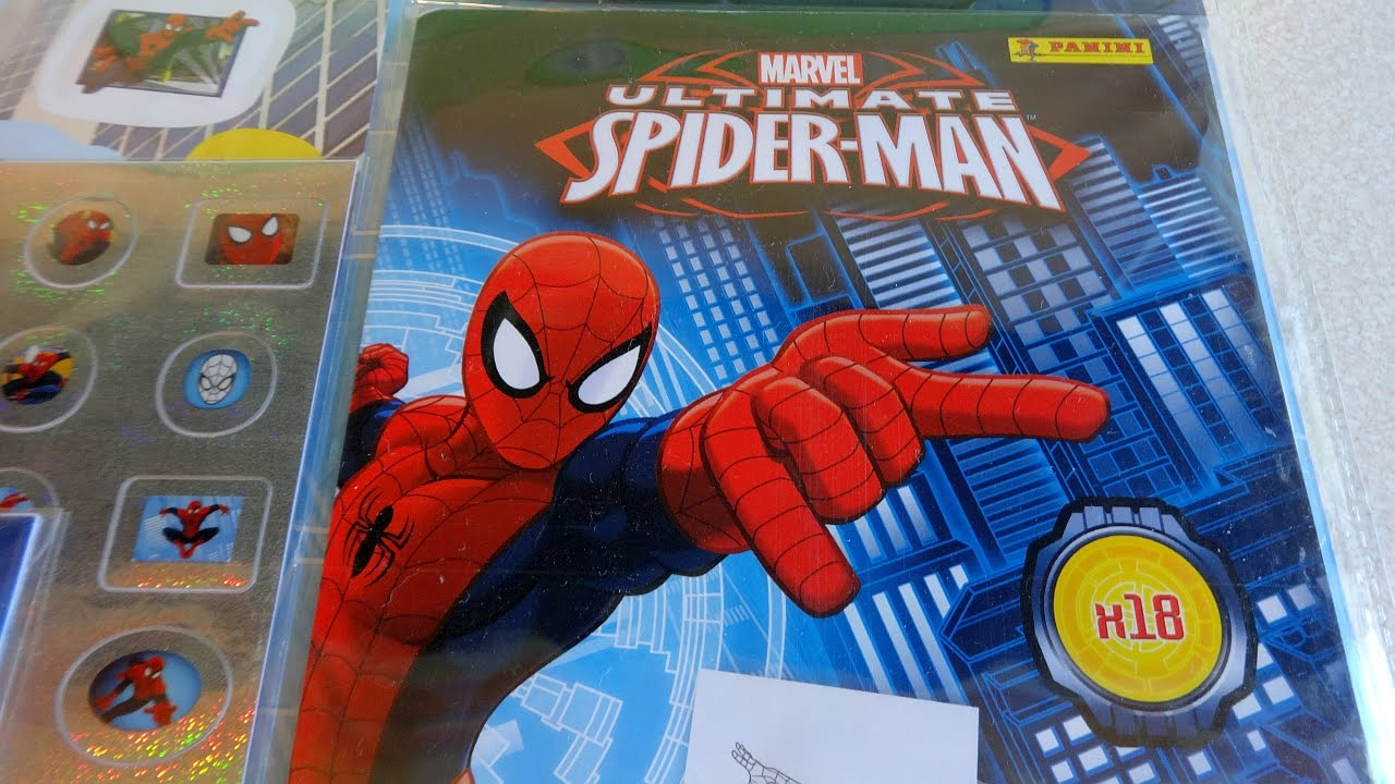Marvel Ultimate Spider Man Mega Sticker Activity Pack 270