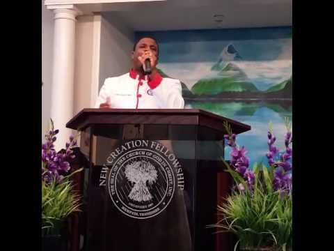Pastor Charles Jones preaching Sunday Morning 10916