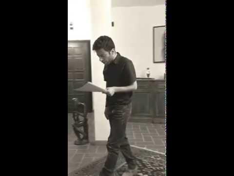 """Giacomo Lucci in """"Moloch"""" dalla poesia """"Urlo"""" di A. Ginsberg"""