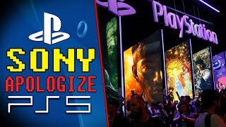Sony APOLOGIZES! No PS5 News COMING.. (New Game & PlayStation State Of Play)