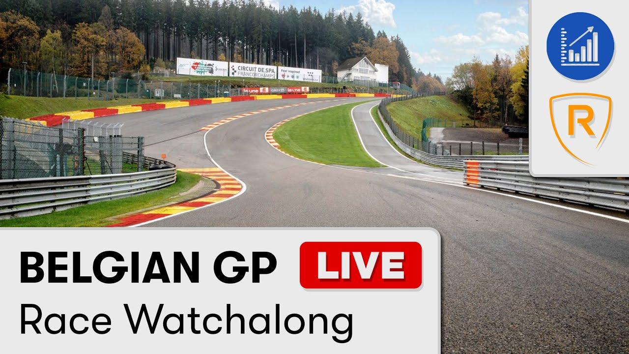 F1 2021 Belgian GP Live Race Watchalong - YouTube