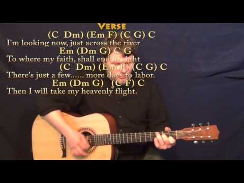 Beulah Land - Strum Guitar Cover Lesson in C with Chords/Lyrics