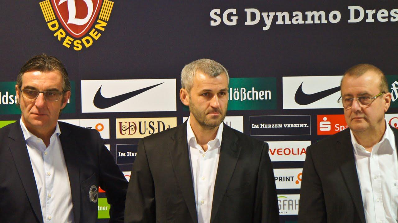 Neuer Trainer Dynamo Dresden