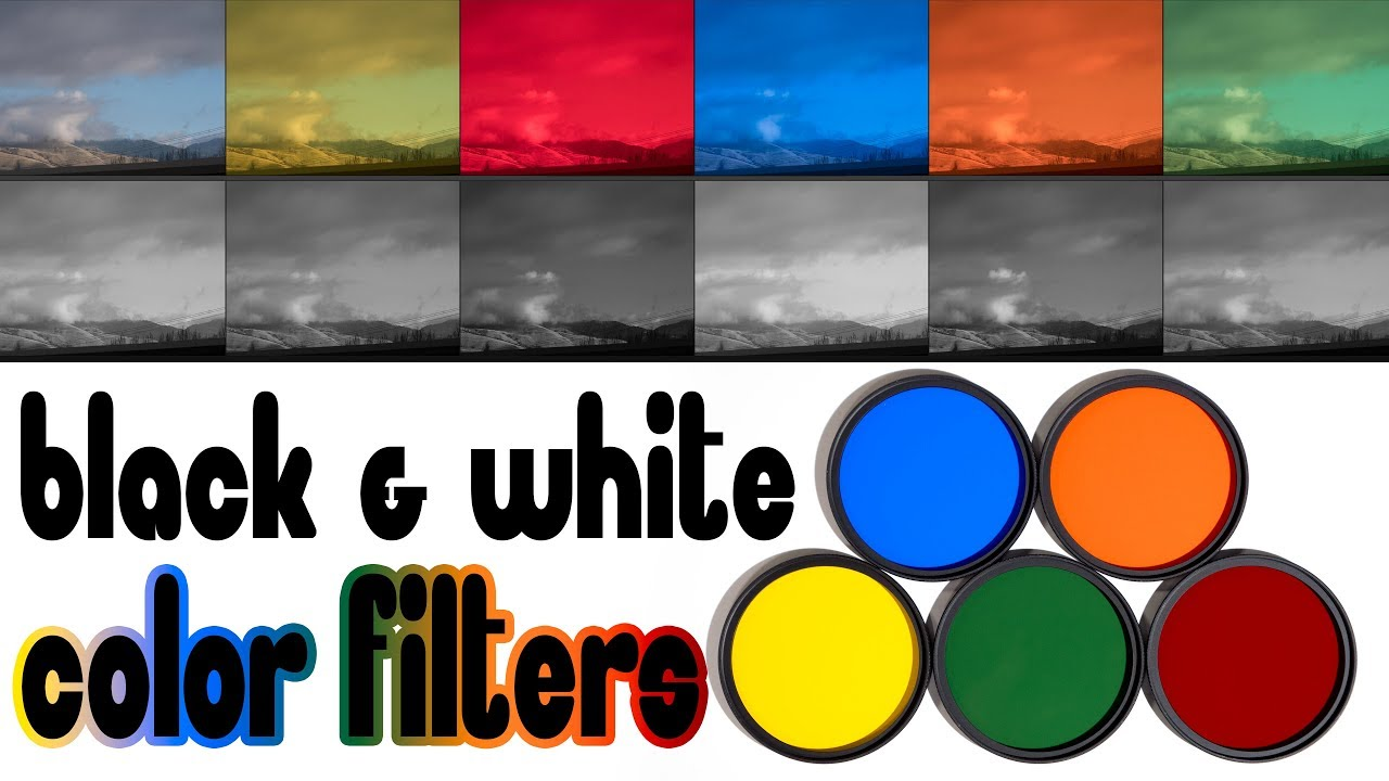 Color Filters for Black & White Photography Bringing Back ...