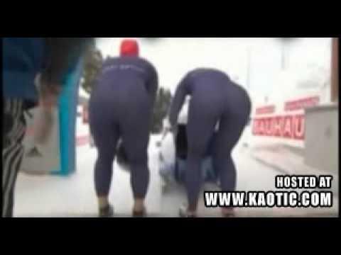 British Bob Sled Babes Pants Split