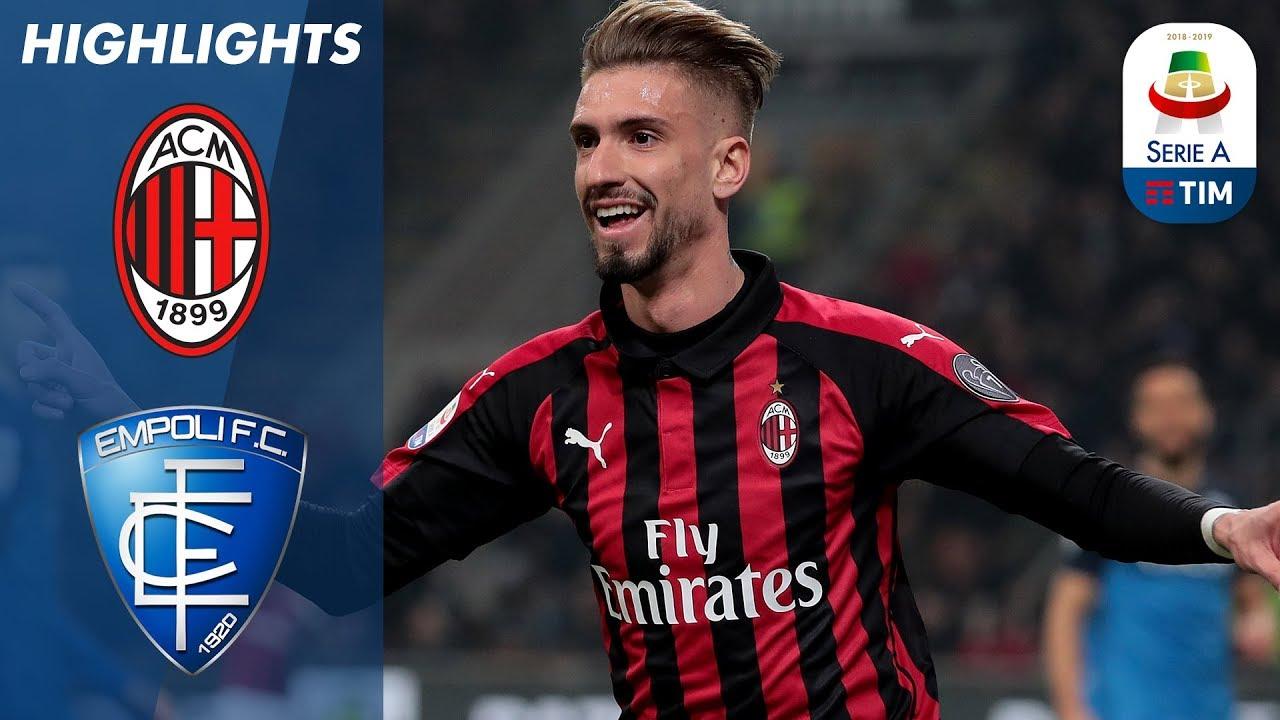 Milan 3-0 Empoli   Vittoria schiacciante dei padroni di casa: Castillejo segna il 3-0   Serie A