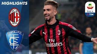 Milan 3-0 Empoli | Vittoria schiacciante dei padroni di casa: Castillejo segna il 3-0 | Serie A