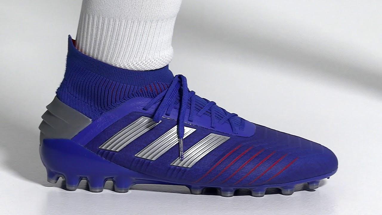 aumento franja puesto  Cómo son las botas de fútbol ADIDAS predator 19.1 AG?– Intersport