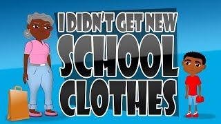 Don't bully me because I didn't get new clothes for back to School (Bullying Video for Kid