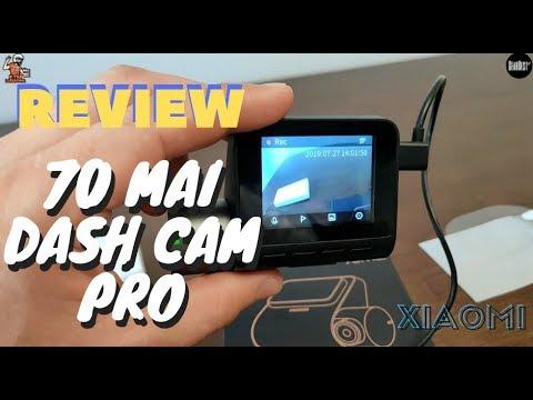 Review Xiaomi 70Mai Dash Cam Pro - Smart Dash Cam ADAS 70mai Review Em Português 140º 1944P Gearbest