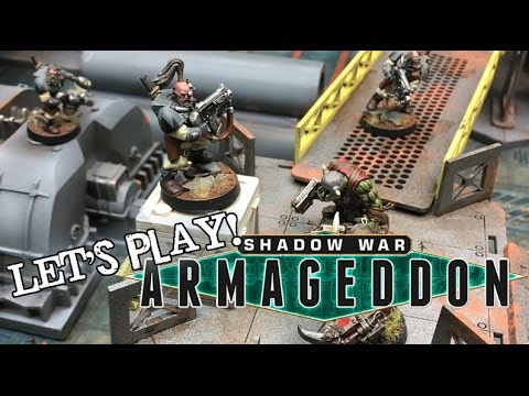 Let's Play! - Shadow War: Armageddon - The Ongoing History of the Underhive