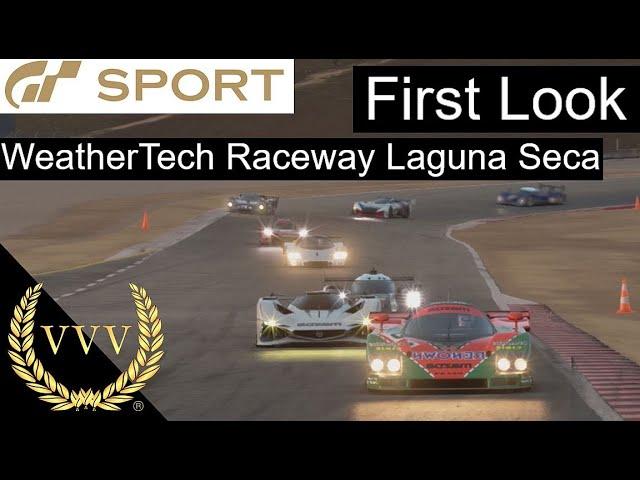 Gran Turismo Sport - Laguna Seca, First Look