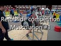 FINALE FRANCE MUSCULATION - Retour sur ma participation