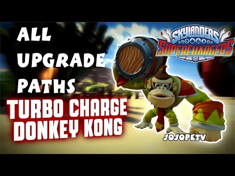 Turbo Charge Donkey Kong Top and Bottom Upgrade Paths  Skylanders Superchargers