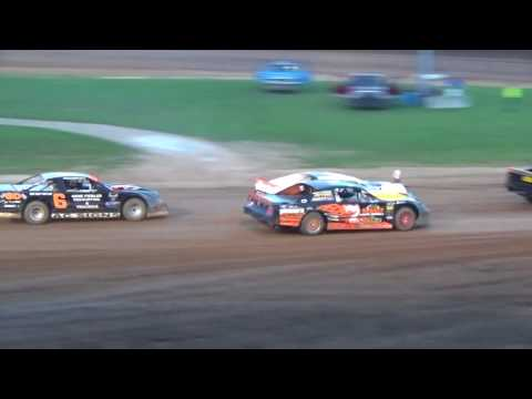 Plymouth Dirt Track Grand National Feature Highlights 7 15 2017