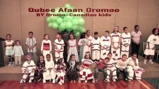 Qubee Afaan Oromoo By Oromo Canadian kids on Oromo Cultural show