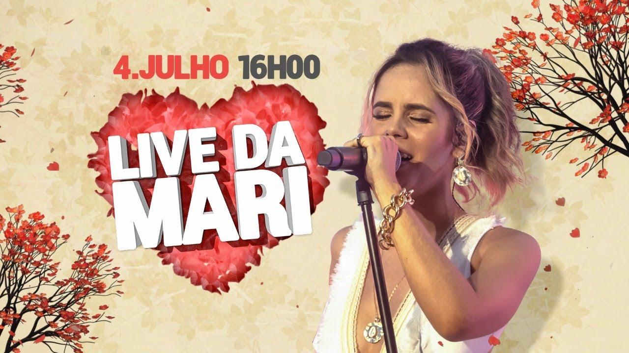 Mariana Fagundes AO VIVO - #LiveDaMari