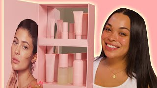 KYLIE SKIN REVIEW | SKIN CARE ROUTINE! | HEATHER AND TRELL