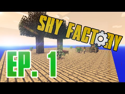 Sky Factory 2 - EP.1 -  STUPID VEIN MINER!!