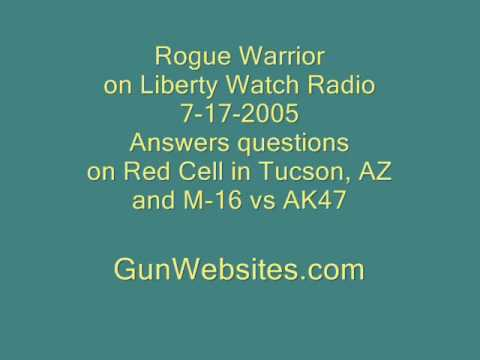 Richard Marcinko, the Rogue Warrior,  M-16 vs AK47