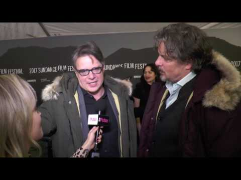 Directors Alex and Andrew Smith Walking Out Premiere Sundance Film Festival