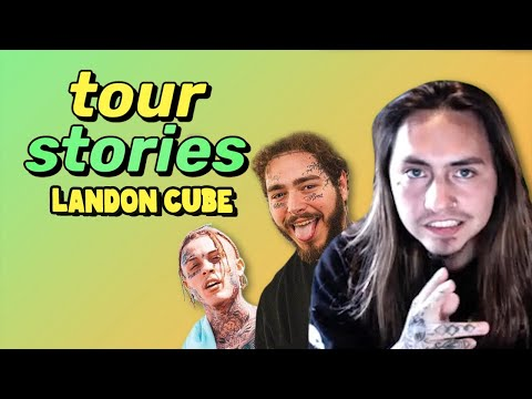 @Landon Cube ran into a burning bus to save his music   tour stories