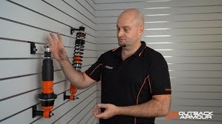 How to Service Adjustable Shock Absorbers - Outback Armour