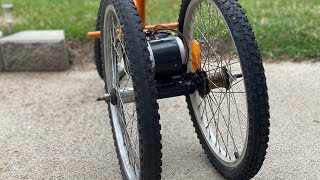How to make a 3 wheel electric Bicycle at home