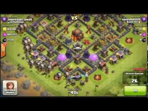 Clash of Clans - Don't ZAP my Dark elixir !!