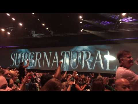SDCC - HALL H - Supernatural Panel Introduction 2017