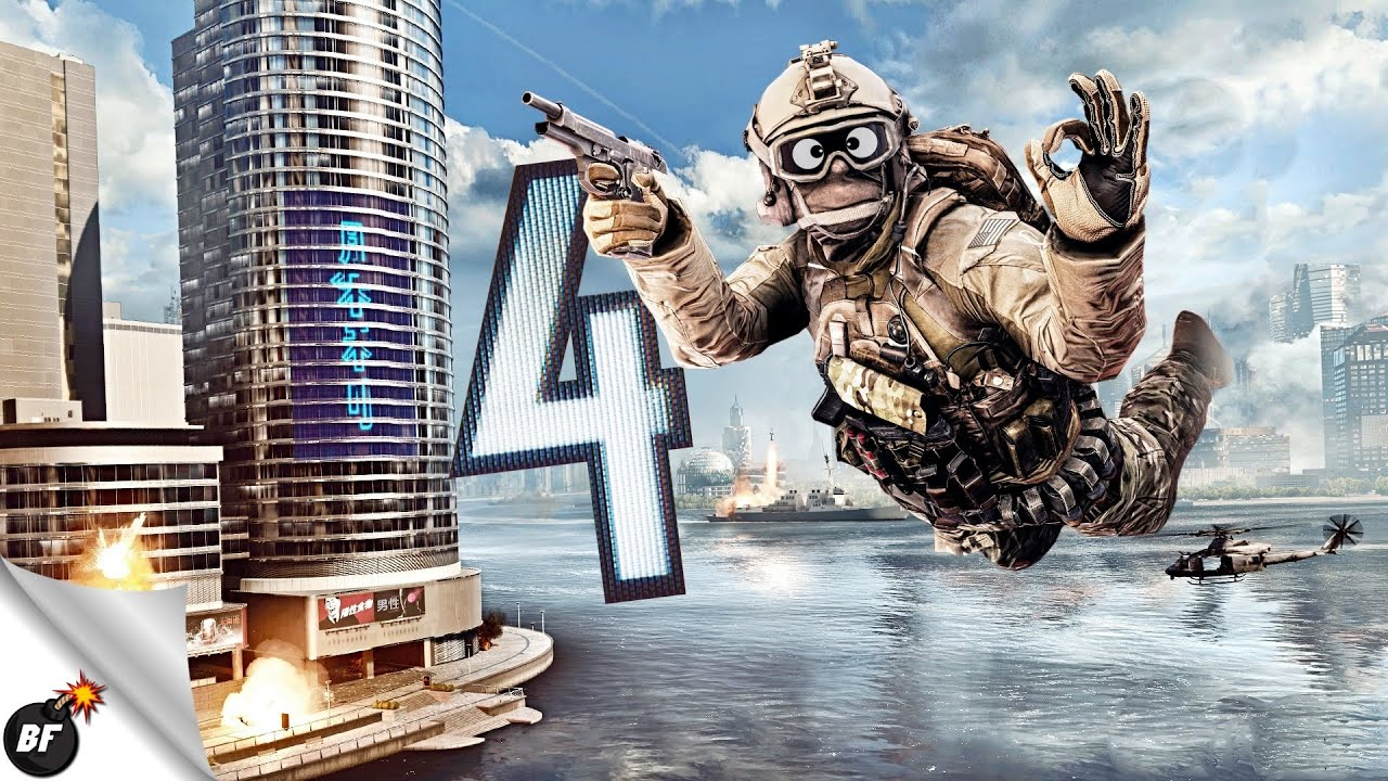 Battlefield 4 Funny Moments - The Best Fails & Glitches! #6