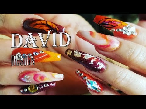 NEW ART DESIGN/ALEX NAIL ART DESIGN/TECHNICIAN DAVID/THE BEST NAIL-NEW ART DESIGN COMPILATION # 14