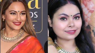 Sonakshi Sinha Inspired Makeup | IIFA Award | Richa Nigam