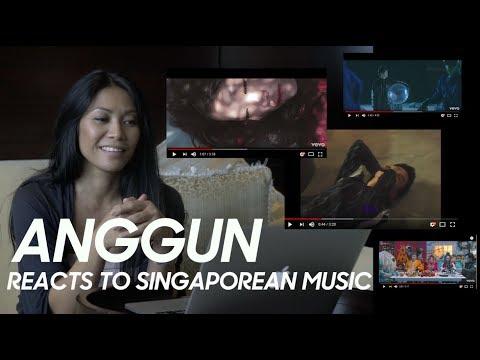Anggun reacts to Singaporean music