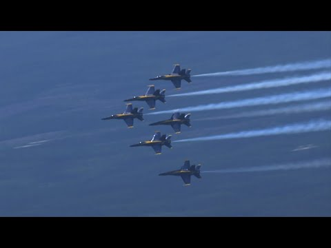Blue Angels, Thunderbirds to fly over Atlanta Saturday in honor of ...