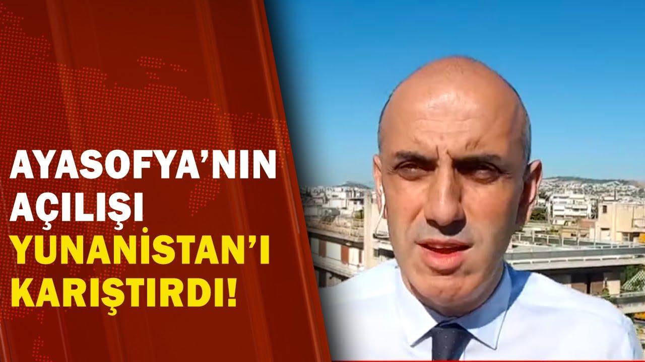 Ayasofya'nın Açılışı Yunanistan'da Nasıl Yankılandı! / A Haber