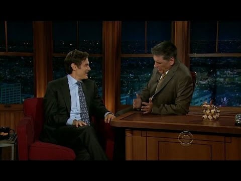 Late Late Show with Craig Ferguson 2/28/2012 Dr  Mehmet Oz, Carrie Keagan