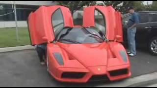 ENZO FERRARI ENZO ORANGE rosso dino - walk around- fly by