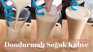 Dondurmalı Soğuk Kahve Tarifi - Naciye Kesici - Yemek Tarifleri