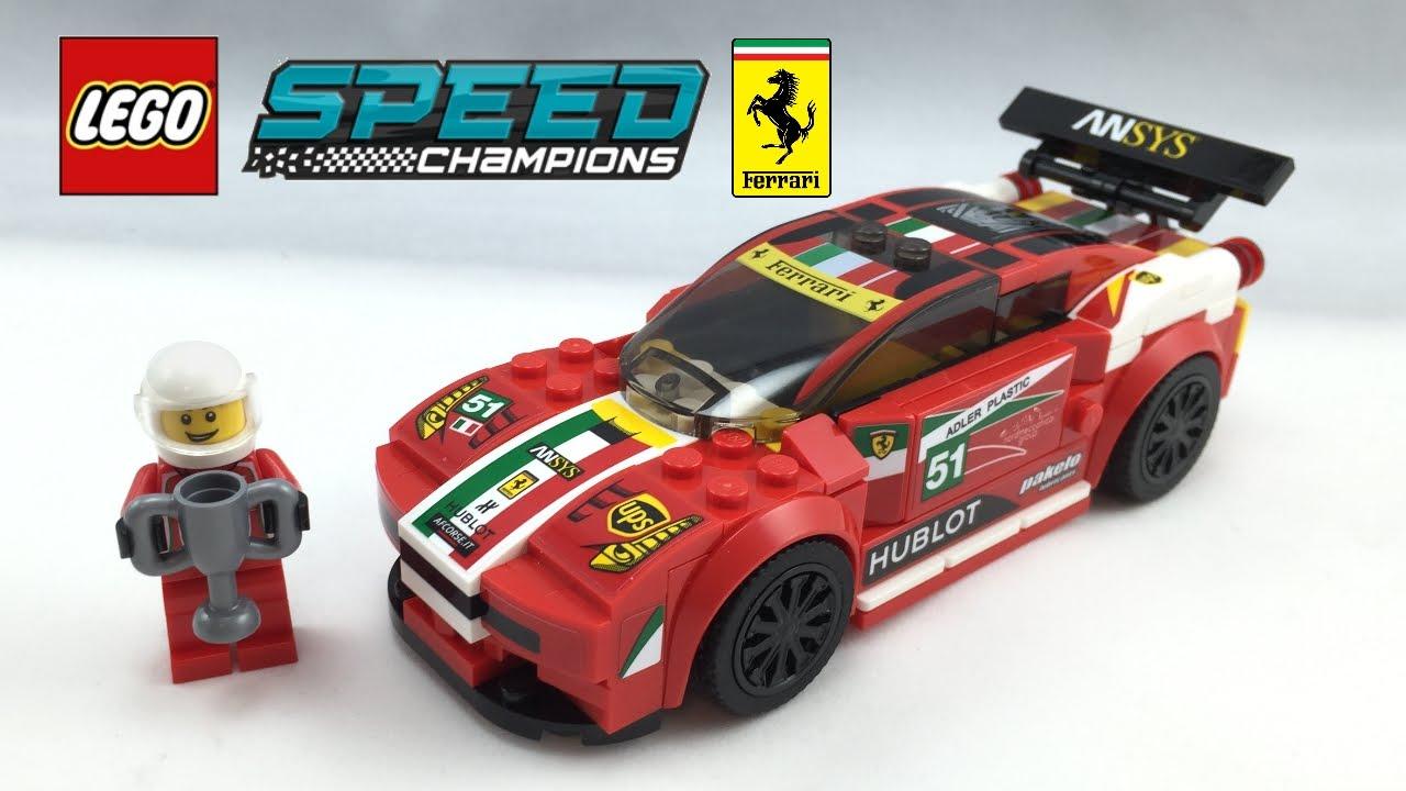 lego ferrari 458 italia gt2 speed champions set review. Black Bedroom Furniture Sets. Home Design Ideas