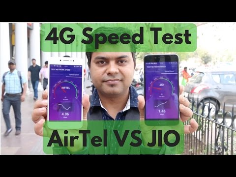 JIO VS Airtel Real 4G Speedtest Delhi, You Will Be Surprised | Gadgets To Use